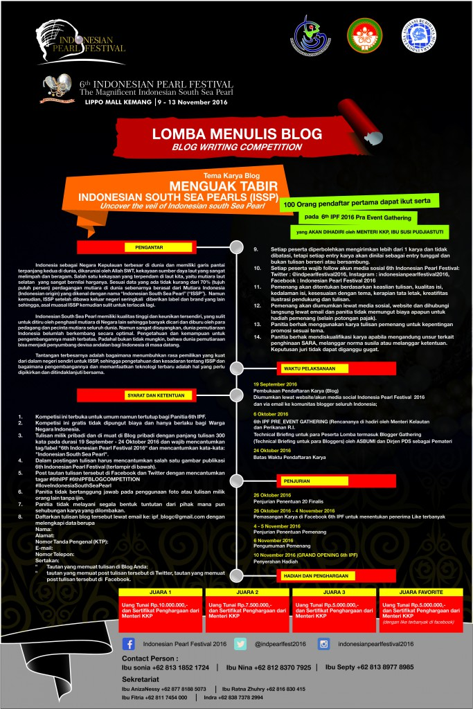 PENGUMUMAN LOMBA BLOG FINAL WITH PROLOG