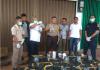 Kepolisian Resort (Polres) Tanjung Jabung Barat (Tanjabbar) berhasil menggagalkan upaya penyelundupan sekitar 69.305 ekor benih lobster di Teluk Nilau, Tanjabbar pada Kamis (11/4). Dok. Humas BKIPM
