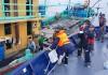 Penangkapan kapal perikanan asing berbendera Malaysia KM. KHF 1786 oleh KP. Hiu 12 di ZEEI Selat Malaka pada Sabtu (15/6). Dok. Humas PSDKP