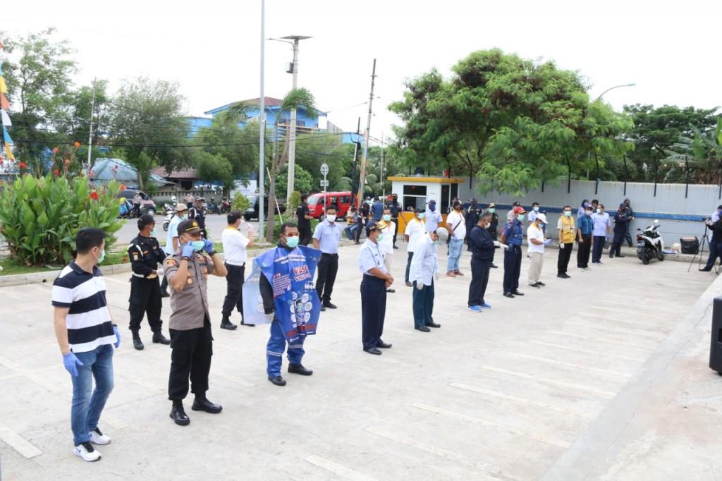 Salah satu kegiatan di Siaga Nelayan (Foto: KKP)