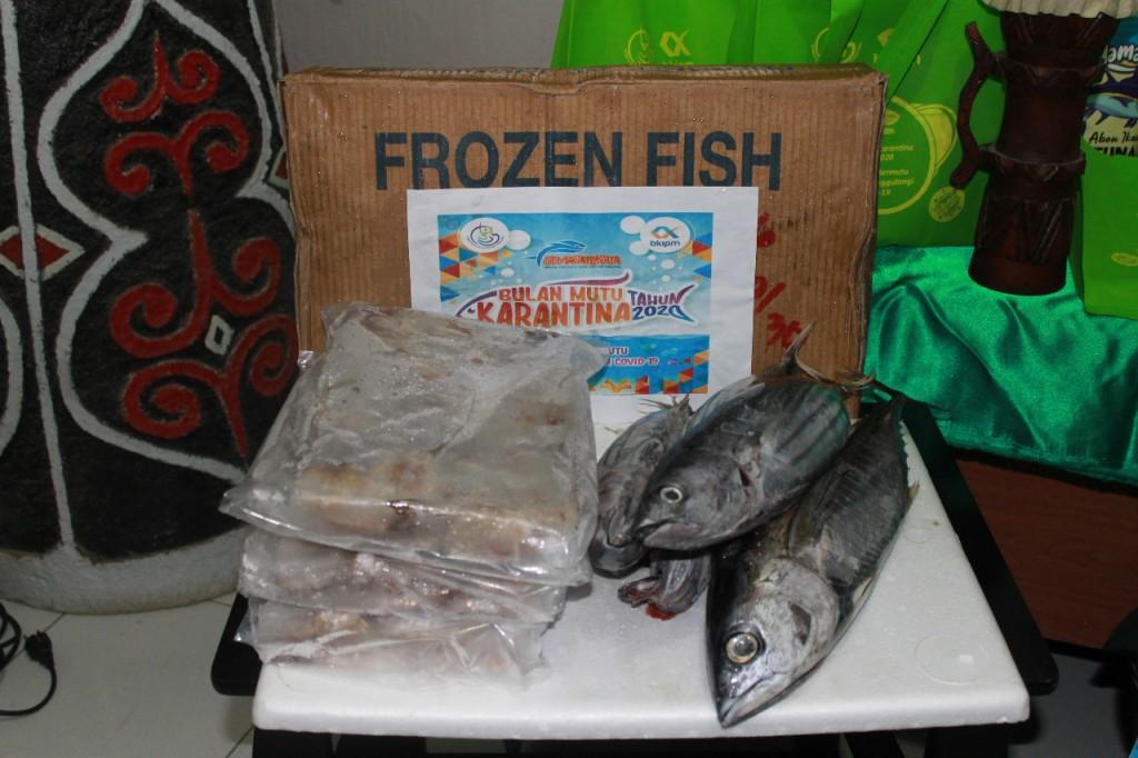 Paket ikan untuk masyarakat perbatasan Indonesia-Malaysia di Kalimantan Barat.